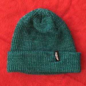 Vans Teal Green knitted beanie